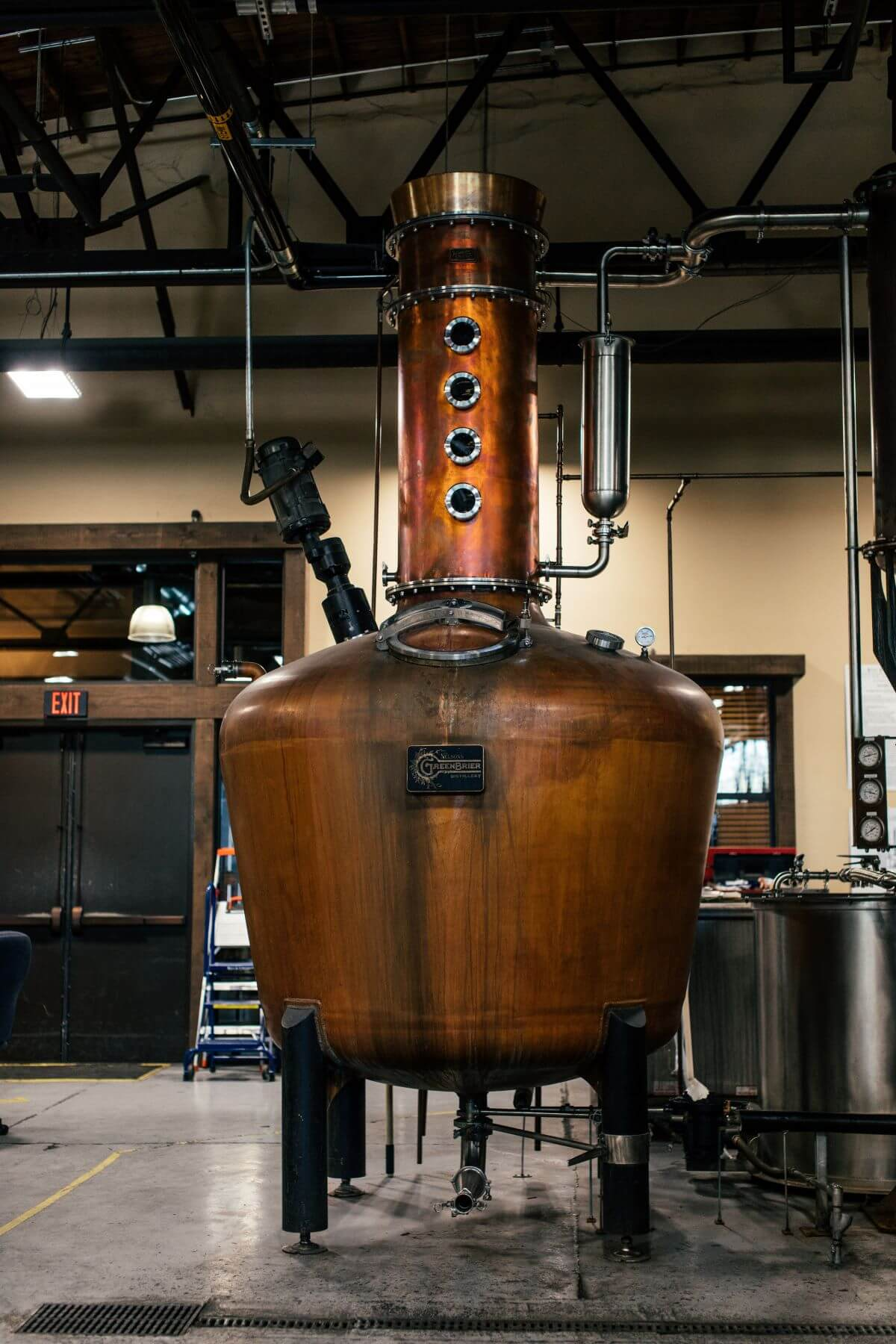 Cooper still for distilling liquor