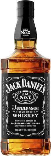 Jack Daniel's Tennessee Whiskey bottle