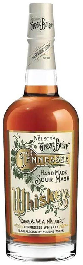 Nelson's Green Brier Tennessee Whiskey bottle